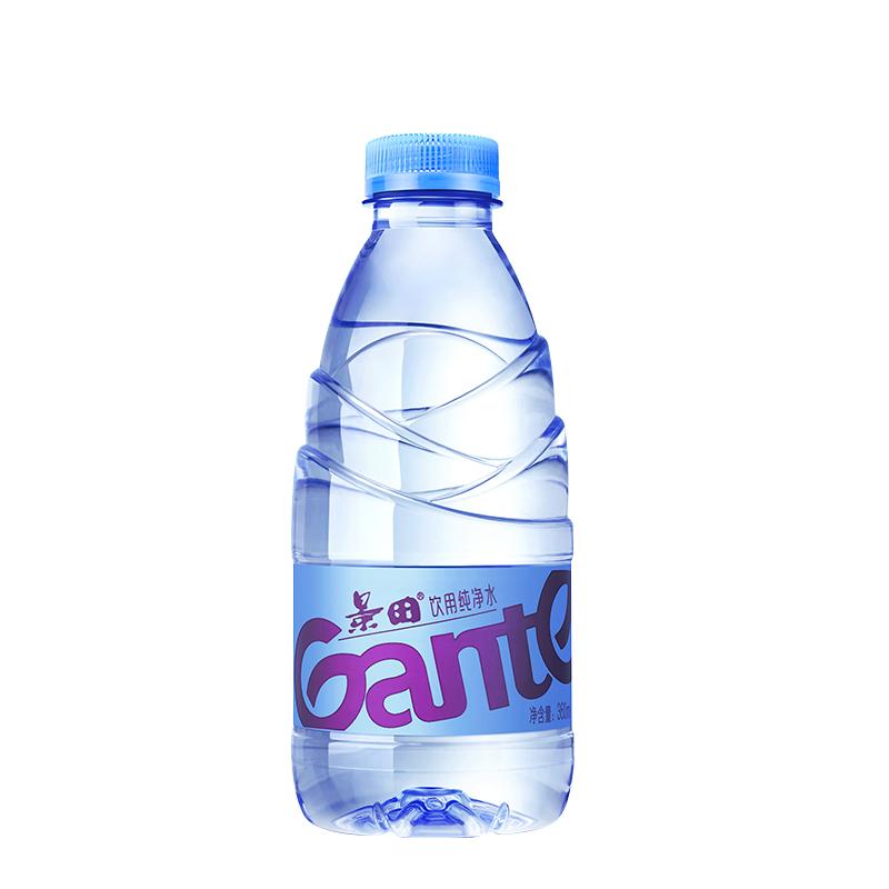 【促销】【仅供部分区域】景田纯净水/矿泉水 通用 瓶装饮用水 360ML*24瓶 透明瓶【仅供酒店,非酒店用户请勿下单】